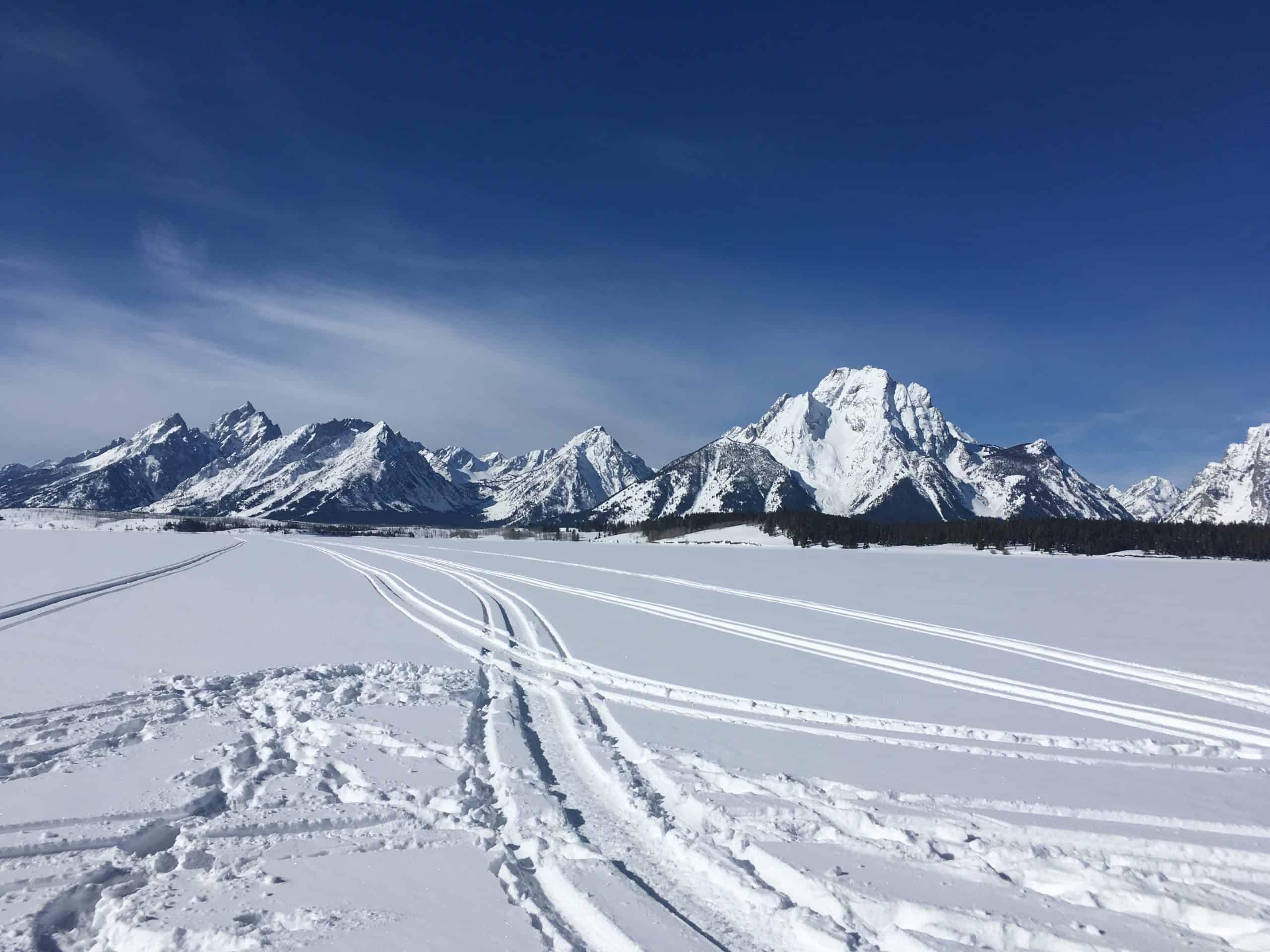 Winter in The Bridger Tetons